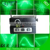1W green animation disco laser light