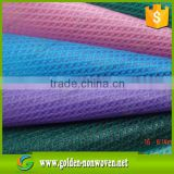 pp cambrelle(cross nonwoven)for shoes interlining material, wholesale colorful cross non woven fabric in roll