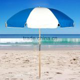 180cm 220D polyester printing beach umbrella for promotion(Social Audit and BSCI factory)