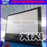 2016 outdoor airtight inflatable rear projection screen