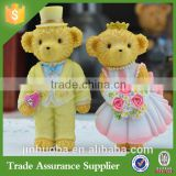 2016 Custom Popular Polyresin Bears Statue Decoration