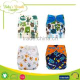 PBT-03 factory sale anti-bacterial children bamboo liner diaper cloths