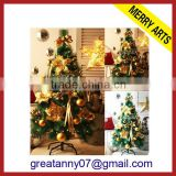 Yiwu wholesale 2014 hot artificial snow christmas tree murano glass christmas trees for sale