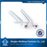 Hot zinc/black plated Hex Socket Head Cap Bolt Din 912 SS A2/A4 Sale By Bulk high quality ningbo fastener manufacturers