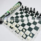 Garden Games Giant Plastic Outdoor Chess Game Set with Giant Mat