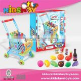 new product children play house kids mini shopping cart food cart