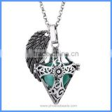 Love Gift For Mother Baby Angel Wing Religion Cross Hollow Cage Musical Sound Ball Pendant Pregnancy Necklaces BAC-M060