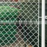 PVC galvanized used chain link fence for sale