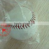 B grade cowhide leather baseball