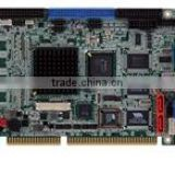 Half-size pure ISA CPU card with on-board AMD Geode LX600 processor (366MHz),128KB L2 cache, 128MB memory on board, VGA, LAN, U