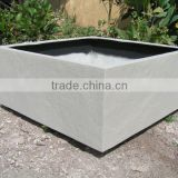 Square fiberglass Planter Box