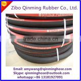 black nylon braid cloth covered epdm hose