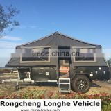 Blazing Red Lips- off road camping trailer for sales with trailer tent