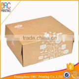 custom made folding brown kraft cardboard paper shoe box                                                                         Quality Choice