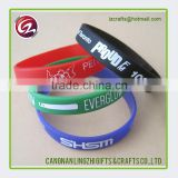 Cheap custom good quality soft silicone bracelets                                                                                                         Supplier's Choice