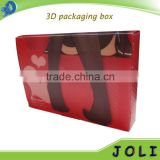 advertising promotional gifts 3d lenticular book packaging box