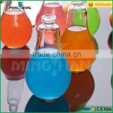 150ml 200ml 250ml 300ml 400ml beverage glass bottle with metal lid and plastic straw                                                                         Quality Choice