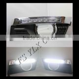 LED DRL Driving Daytime Running Day Fog Lamp Light Turn Signal For cadillac SRX drl led headlight lamp
