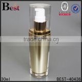 30/60/120ml personal care skin cream use acrylic plastic bottle white lotion pump cap                                                                                                         Supplier's Choice