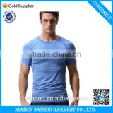 China Wholesale Men's Clothing Gym Sport Wear Tight Fit Men's Quick Dry T Shirts 100% polyester Custom Printing Men's t shirts                                                                         Quality Choice