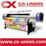 UD1812LB1.8m direct to fabric cloth banner printing dye Sublimation plotter with two DX5 printheads