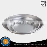Non-Slip fancy Metal banquet serving tray