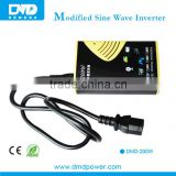 Micro Off Grid Tied Inverter 12v 200w Modified Sine Wave Car Power Inverter mini inverter For Car