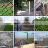 Chain Link Fence for decorative garden fence / China Wholesale used chain link fence for sale factory