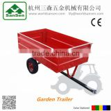 Small Utility Cart trailer , ATV tow behind Trailer