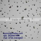 Acoustic mineral fiber board for ceiling