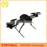 Portable Royalplay RH700NL Professional Hexacopter Drone