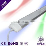 Factory led light for shop IP65 600mm led batten light fixture 18W 2835SMD AC85-265V led batten light