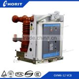 GVS9-24 embedded poles type circuit breaker 24kv 630A solid seal pole vacuum circuit breaker