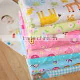 baby flannel fabric, flannel fabric for pajamas, 20s*10s 40*42 100% cotton flannel, one side flannel for baby sleeping bag