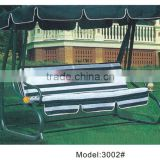 England Stripped iron frame swing chair two seat restaurant swing benches