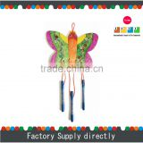 Hotsale Natural Color Butterfly Shaped Unique Wooden Cheap Wind Chime