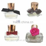 Satin Ribbon bow bottle decoration for glass perfume bottle decoration bow tie straps wine bottle pull flower ribbon