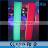 novelty led floor lamp for party/wedding/salon,rgb colorful decoration led standing light