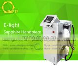 Salon Multi-Functional Laser Beauty Equipment Skin Inspection Permanent With Elight For Hair Removal White
