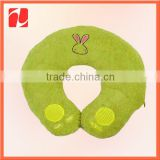 Adorable & Relaxing China shenzhen OEM fleece inflatable neck pillow
