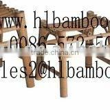 environmental protection natural bamboo chair