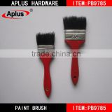 Wholesale wall paint brush China supplier soft bristles wooden paint brush set hardware tool set