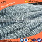 Hot sale Plastic Coated Iron Wire Mesh Used Chain Link Fence volume