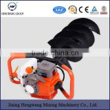 63cc 2.5kw BIG power post hole digger ground drilling machine earth auger (63cc with 100mm drill)