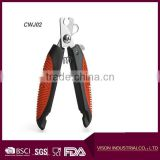 factory price New Professional Pet Grooming Nail Clipper with Stainless Steel Cutter Head