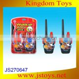new arrival product walkie talkie toy emulational design from china