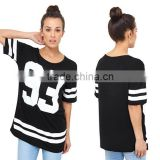 Custom Sublimation American Football Jersey Womens Oversized Baseball Soccer T Shirt Print Tees Football Jersey New Model