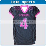 Sublimated wholesale custom youth American football jerseys,football uniforms