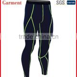 Men's Running Fitness Workout Compression Base Layer Tights Pants