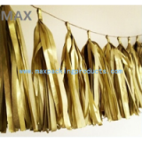 Wholesale New Fashion Multicolored Paper Tassel Garland For Engagement parties/Baby Shower
